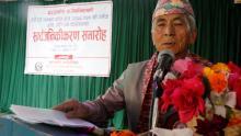 पूर्व सभापति श्री भक्तिराज हिराचन