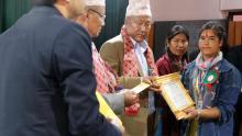 उत्कृष्ट कर्मचारी श्री सुस्मिता नेपाली
